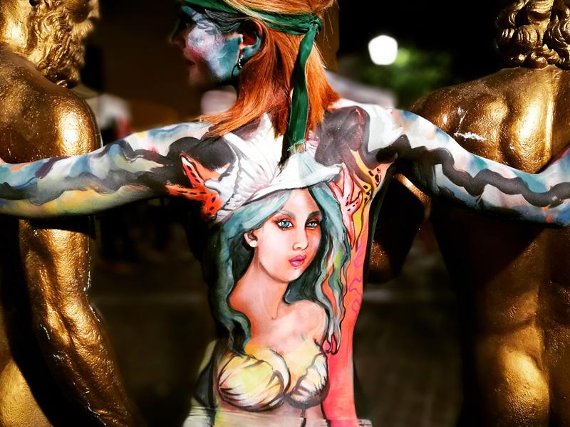 Esine 1 ottobre: Barbara Biemmi facebody-painter