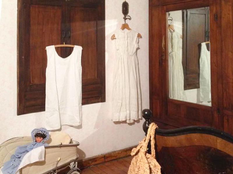 Novelle di Sellero: Casa Mariotti camera da letto