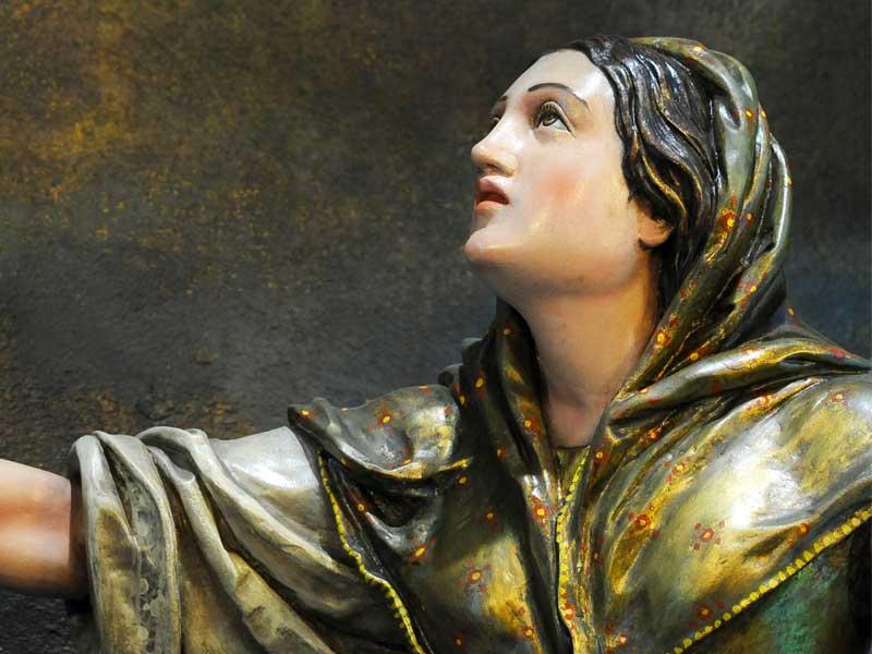 Gruppo scultoreo Madonna Pellegrina