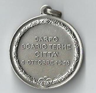 1968 medaglia verso