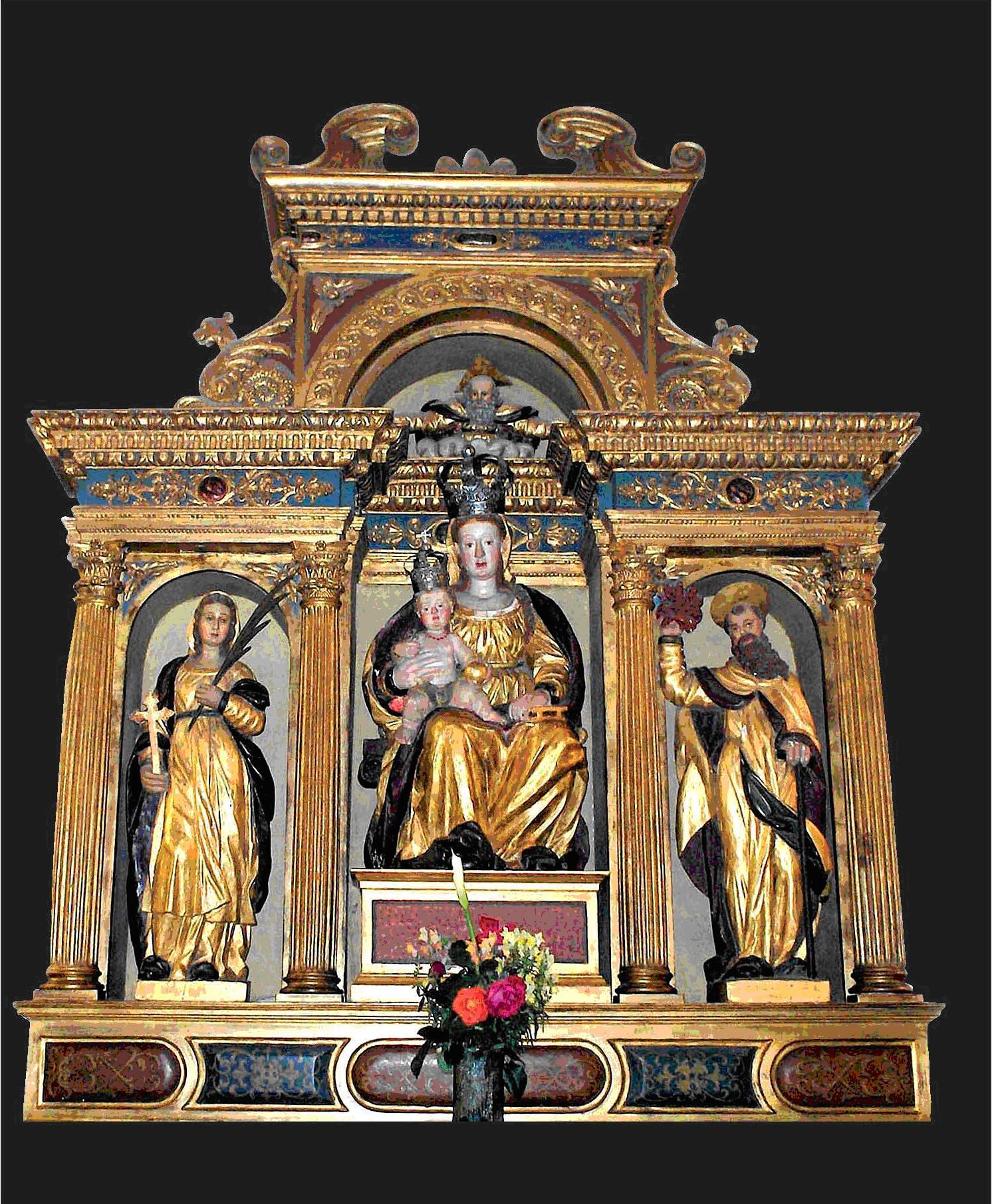 S. Maria Rotonda Palaplastica dell'altare