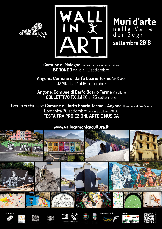 Locandina Wall in Art 18-2