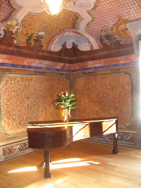 Casa Panzerini stanza affrescata